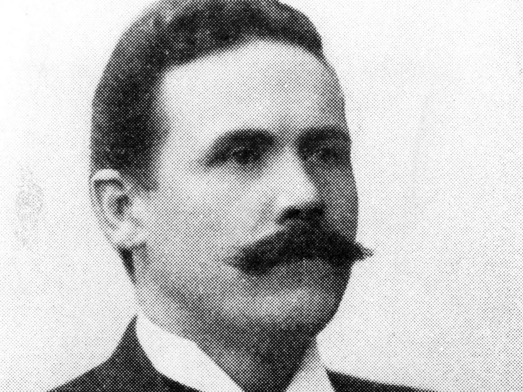 Socialdemokraternas partiledare genom tiderna. Claes Emil Tholin var först –från 1896 till 1907.