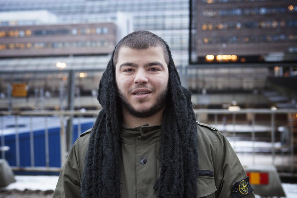 Mohammed Ali, 20, studerande, Stockholm: - Nej, men jag känner igen henne. Hon är inte i näringslivet. Och inte i politiken.