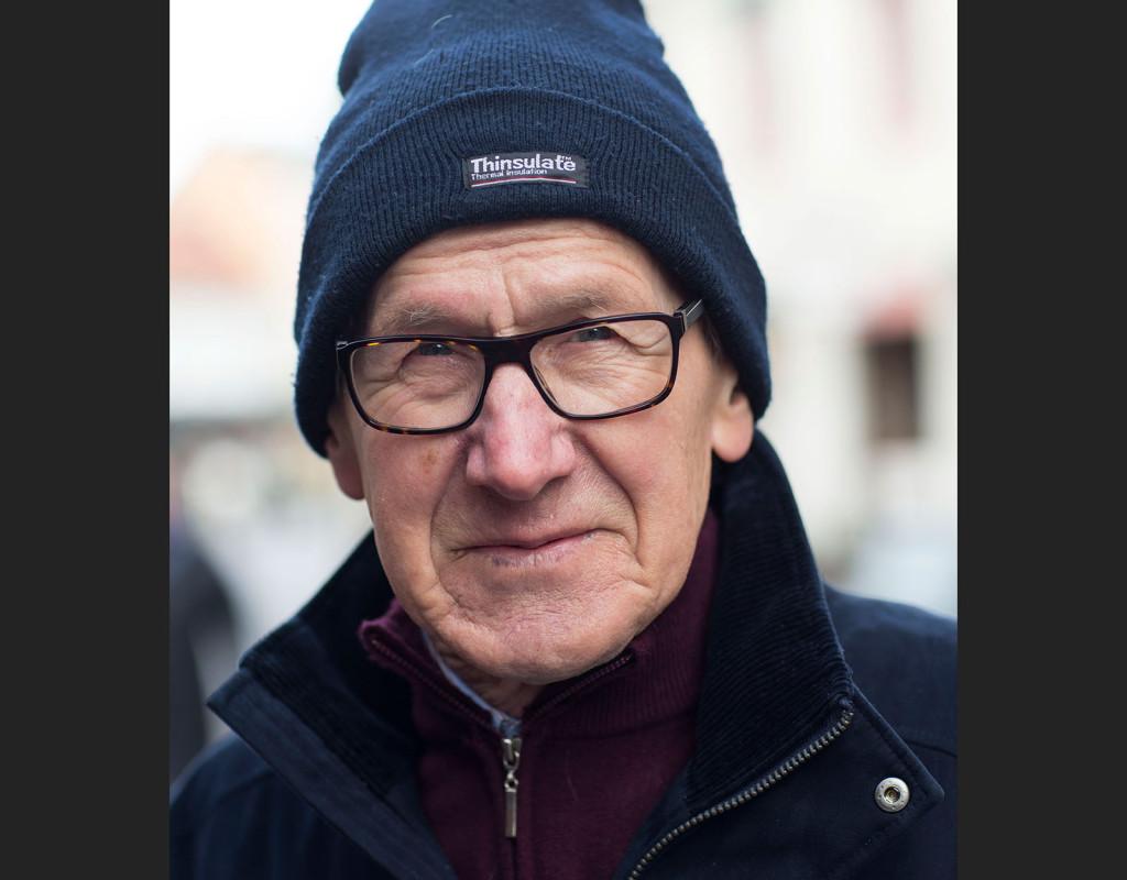 Sven Nielsen, 78, pensionär, Arlöv: - Ja, jag jag känner igen henne, det är ju kommunalrådet i Malmö.